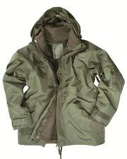 EE.UU. protección contra la humedad con Chaqueta polar, de lluvia,oliva -nuevo