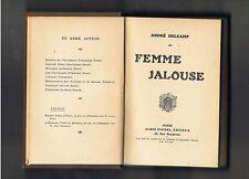 FEMME JALOUSE ANDRE DELCAMP  ALBIN MICHEL 1920