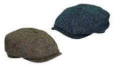 Göttmann Flatcap Belvedere Tweed braun Schirmkappe Winter Mütze Wolle Schild Cap