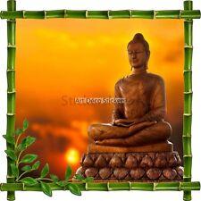 Adesivo Cornice Bambù Budda 7187