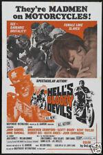 Hells bloody devils horror Movie poster
