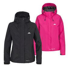 Trespass Womens Ladies Miyake Lightweight Breathable Waterproof Rain Jacket Coat