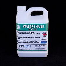 Waterbased Heavy Duty (Commercial) Polyurethane Floor Seal / Varnish  2.5 Litres