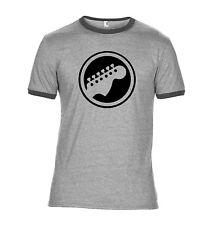 Guitar Headstock T Shirt - Guitarist's Head Stock Tee