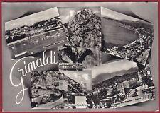 IMPERIA VENTIMIGLIA 25 GRIMALDI CONFINE DOGANA VEDUTINE Cartolina FOTOGRAFICA