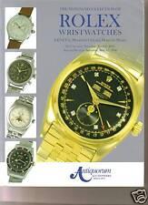VERY RARE ANTIQUORUM Mondani ROLEX Wristwatches Coll 06