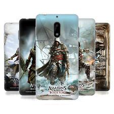 Oficial ASSASSIN'S Creed Black Flag clave Arte Gel Suave Estuche Para NOKIA TELÉFONOS 1
