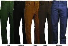 Jeans Cuir 501 homme femme Nubuck Pantalon en cuir Moto Motard chasse 6 couleurs