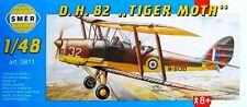 DH 82 TIGER MOTH / Sk.11  (RAF & SWEDISH AF MARKINGS) 1/48 SMER