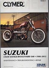 1986-2012 CLYMER SUZUKI LS650 SAVAGE BOULEVARD S40 SERVICE MANUAL M384-5 NEW