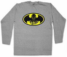 BATHULHU I LONG SLEEVE T-SHIRT Bruce Miskatonic Batman Wayne Logo Cthulhu
