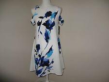 Lauren Ralph Lauren Cutout Floral Crepe Dress Woman Size 4 NWT $155