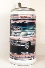 BUDWEISER STEIN ~ CLASSIC CARS ~ 1959 CADILLAC ELDORADO BIARRITZ
