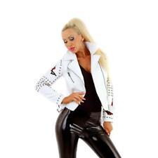 Trendige Damen Hüftjeans mit dicken Kontrastnähten Schwarz #H1850