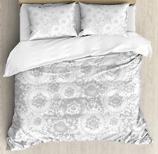 Shabby Chic Duvet Cover Set with Pillow Shams Rose Petals Floret Print