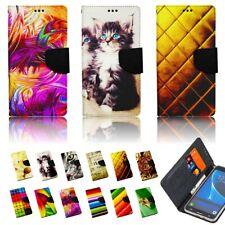 Handy Tasche für Motorola Lenovo Flip Cover Schutz Hülle Etui Wallet FARBEN