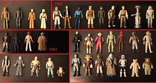 Vintage Star Wars - Original Loose Action Figures Kenner 1977 -1984 Anh Rotj Esb