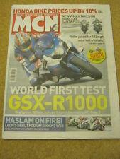 MCN - MOTORCYCLE NEWS - V MAX AT SANTA POD - 4 March 2009