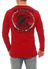 RioRim men's T-shirt Long sleeves Long-sleeved T-shirt ATOHI 3106 red