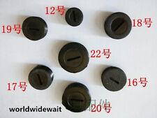10pcs Black 12/13/14/15/16/17/18/19/20/22mm Thread Dia Motor Carbon Brush Cap