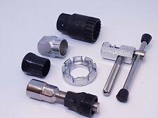 Bicycle Tools Set Cassette Freewheel Bottom Bracket Crank Extractor Chain Rivet