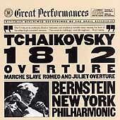 Tchaikovsky: 1812 Overture/Marche Slave/Romeo And Juliet-Overture Fantasy (CD, O