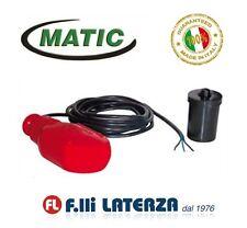 Matic Interrupteur Flotteur Électrique Cuve Close Contrôle Niveau 3M-5M-10M