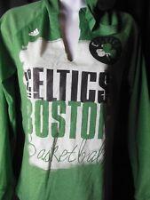 Boston Celtics Women's Adidas Hooded Tee Shirt