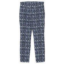 20911 GERRY WEBER Damen Jeans Hose ROXANE Jeggings navyblue print blau