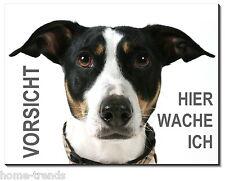 Jack Russel Terrier-Hund-Alu-Schild-0,5 - 3 mm -Türschild-Warnschild-Hundeschild