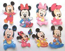 3D UPick New06 Baby Mickey Minnie Flowers Bears Rain Spy Scrapbook Embellishment