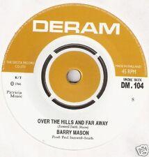 "Barry Mason - Over The Hills & Far Away 7"" Rare Psych"