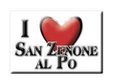 CALAMITA LOMBARDIA FRIDGE MAGNET MAGNETE SOUVENIR LOVE SAN ZENONE AL PO (PV)