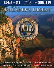 Reader's Digest Scenic Walks Around the World Blu-ray W/ SLIPCOVER 2-DISC