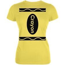 Halloween Crayon Costume Juniors Soft T Shirt