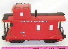 "Lionel New 87701 ""701"" Denver & Rio Grande Caboose"