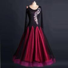 Ballroom Foxtrot Modern Waltz Standard Competition Dance Ball  Evening Dress