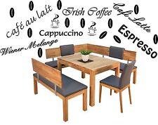 Küchenaufkleber Kaffeeaufkleber- Kaffee Aufkleberset mit 20 Teilen -Artikel 430