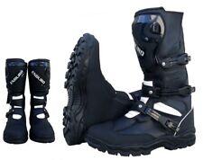 Bottes pour le moto tourisme enduro en cuir avec le protections pour les homme
