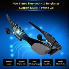 Bluetooth Headphone Handfree Smart Glasses Sunglasses Wireless Earphone Call Y01