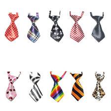 10Pcs GOGO Cute Dog Cat Pet Puppy Adjustable Collar Neckties, Assorted Patterns