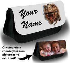 Tyrannosaurus Rex Make Up Bag Makeup Case Kids Dinosaurs Custom Gift Novelty 649