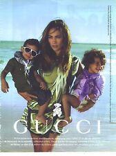 PUBLICITE ADVERTISING   2011  GUCCI haute couture Jenifer LOPEZ