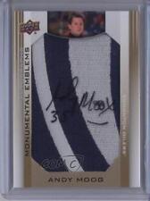 2013-14 Upper Deck Edmonton Oilers #ME-AM Andy Moog Auto Autographed Hockey Card