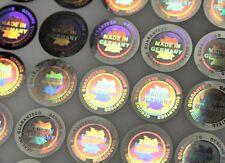 """""""Made in Germany"""" 3D Hologramm Siegel Aufkleber Garantiesiegel Antifake Sticker"""