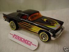Hot Wheels Design Ex '50s Cruisers black '57 Ford T-BIRD gbbs ∞New Loose ∞