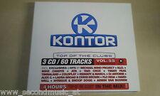 CD--KONTOR--VOL 55--3CD --ALBUM