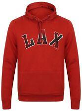 Hoody Jumper Top Lax Unisex Hoodie Burnt Orange Lacrosse New Sweater Ex Primark