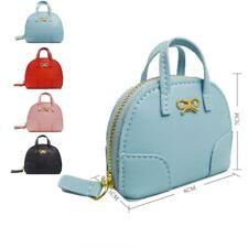Ragazza Mini Portamonete Women's Piccolo Fiocco Borsetta Charm Piccolo Portafoglio Borsa Regalo UK