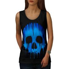 Cráneo esqueleto de fusión mujeres Camiseta sin mangas Nuevo | wellcoda